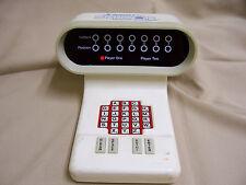 VINTAGE BATTERY POWERED SCRABBLE SENSOR ELECTRONIC LED WORD GAME