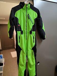 OberMayer Kids Boy's I - Grow Green Ski Snow Suit Pants Size 8 #17