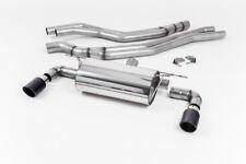 Milltek BMW M140i 3&5 Door Cat Back Exhaust ROAD Resonate Carbon JET90 SSXBM1044