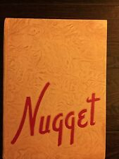 Vintage NUGGET Year Book 1945 - C.K. McCLATCHY SENIOR HIGH SCHOOL - 127 Pages