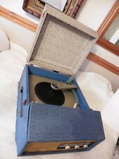 Vintage Philips 4 SPEED Record Player Turntable w/ ADASTRA 3.3 AMP 1960s PROJECT