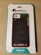 NEW Prodigee Network iPhone SE / 5 / 5s Case Slim Stainless Steel Cover - BLACK