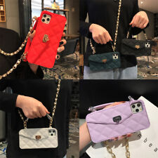 Luxury Long Chain Purse Wallet Phone Case Cover For iPhone 11 Pro XS XR 8 7 6S