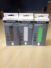 3 x Portable External Power Bank, USB Battery Pack Charger MOBILE PHONE 1200 mAh