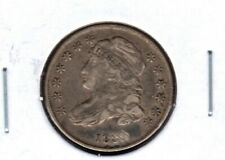 1830 CAPPED BUST SILVER DIME GRADES VERY FINE READ PLEASE #C4792