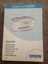 Epson Stylus CX3200 Copy Guide Book