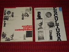 Museum De Bellas Artes Caracas Venezuela Art Catalogs ESCULTURA EUROPEA 2 BOOKS