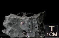 Proustit auf Arsen gediegen, 32x21x18mm, 30,00 g, Fundort, Schlema, Erzgebirge.