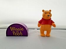 Lego Duplo Disney Winnie the Pooh Figure And Name Plate Specialty Piece