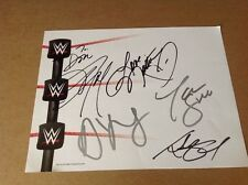 Natalya Alicia Fox Tamina Prime Time WWE Signed Page / PSA DNA Quick Opinion