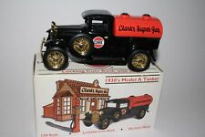 "Liberty Classics Coin Bank, 1930's Clark Model ""A"" Tanker Limied Edition Bank"