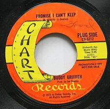 Country Promo 45 Buddy Griffith - Promise I Can'T Keep / Home Is Where The Hurt