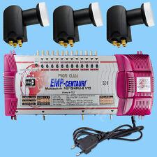 Multi-Switch 13/4 EMP Centauri Switch 3x SKY Quattro LNB 0,1dB Profi CLASSE