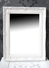 Spiegel Wandspiegel FIONA weiß Barock 46,5 x 37 cm