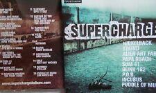 SUPERCHARGED - UK 20 TRK V/A CD -BLINK 182-LINKIN PARK-SLIPKNOT-RAMMSTEIN-SUM 41