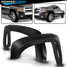 Fits 07-13 Silverado 1500 Short Bed OE Style Fender Flares Trim PP Injection
