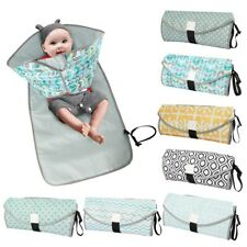 Portable Carrying Diaper Changing Pad Mat Waterproof Folding Station Clutch Bag