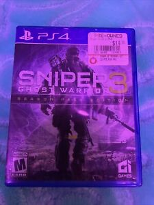 Sniper: Ghost Warrior 3 -- Limited Edition (Sony PlayStation 4, 2017)