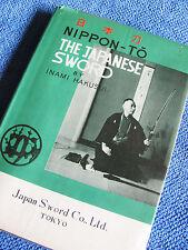 NIPPON-TO The Japanese Sword INAMI HAKUSUI Katana Rare1948 Author-Signed HC!