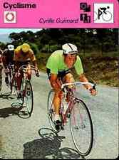 EDDY MERCKX maillot jaune Cyclisme ciclismo Cycling Tour France cyrille guimard