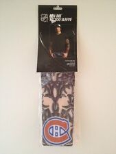 MONTREAL CANADIENS NHL Fan-Ink Tattoo Sleeve Reusable, Stretchy, Looks Real NIB