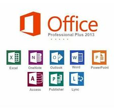 Office Professional Plus 2013- W/scrap, Genuine & Lifetime Key