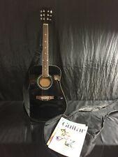 Acoustic Guitar W/ Soft Case (Black)