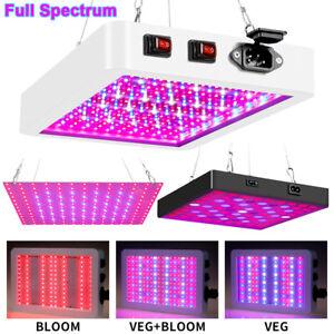 LED Grow Light Full Spectrum Hydroponic Indoor Veg Flower Plant Lamp Panel UK