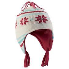Kids Quechua Peruvian Fleece Lined Winter Hat (18 Months - 4 Years) - Peru Pom