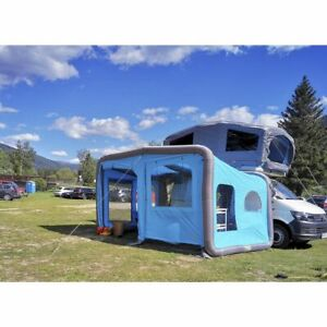 Gentle Tent GT Home Van All Season Air Inflatable Motorhome Awning in Blue