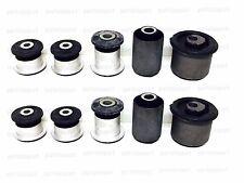 VW Touareg Lower + Upper Control Arm Bushing Kit Left+Right (Set of 10 Bushings)