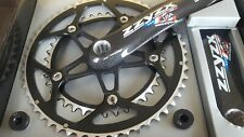 ZZYZX Carbon Crankset 53+39t (172.5mm) Road Bike Chainset ISIS SPLINED 9/10s NEW