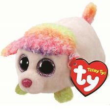 TY Beanie Babies 41245 Teeny TYS Floreale Multi Colore Barboncino Cane