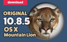OS X 10.8.5 Mountain Lion (Original Download)