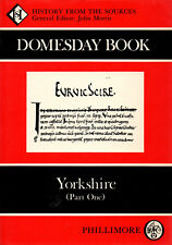 The Domesday Book Yorkshire (2 Volumes) by John Morris (Hardback, 1986)