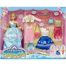 Cinderella MIMI dress coordination/fashion stylist set Role Play barbie doll toy