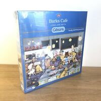 Gibsons Barks Cafe 1000 Piece Jigsaw Puzzle Linda Jane Smith Kids Family - NEW