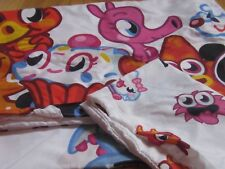 MOSHI MONSTER TWIN BEDDING fitted sheet flat sheet and pillowcase