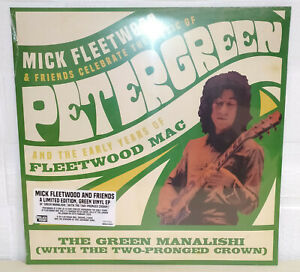 FLEETWOOD MICK AND FRIENDS - THE GREEN MANALISHI - BLACK FRIDAY - RSD - 2020 12""
