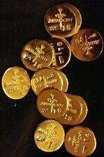 1 GRAM BAR USA BULLION 1g 22K PLACER FINE GOLD ROUND FROM MINE X LOT 161 ANARCHY