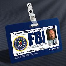 Supernatural - FBI Bobby Prop ID Badge