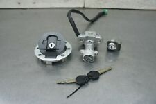 G SUZUKI DL 650 V STROM 2008 OEM  IGNITION SWITCH LOCK & GAS CAP & 2 KEY