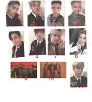 ATEEZ TREASURE EP.FIN Authentic Original Photo card Photocard kpop +free