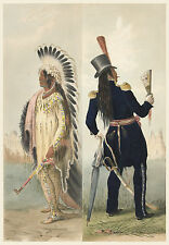 George Catlin's Indian Gallery: Wi-Jon, North American Indian - Fine Art Print