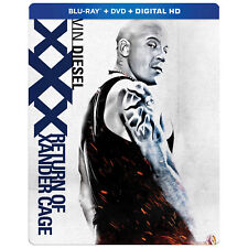 xXx: Return of Xander Cage - Steelbook (Blu-ray/DVD)  *BRAND NEW*