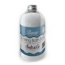 Eucalyptus, Rosemary Epsom Bath Salts - Breeze - Aromatherapy Salts & Co - 500g
