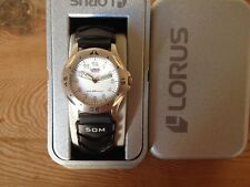 New - Reloj Watch Montre  Sra LORUS Ref.RRS79FX-9 - Quartz - Steel Acero - Nuevo