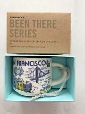 Starbucks 2oz San Francisco Been THERE mug Ornament Espresso Cup Mini Mug NIB