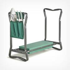 Gardening Kneeler & Tool Set - Portable Foam Knee Pad Stool Folding Seat Chair