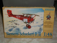 Eduard 1/48 Scale German Siemens-Schuckert D.III